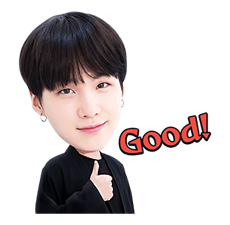 Bts stickers png. Official boy bands y