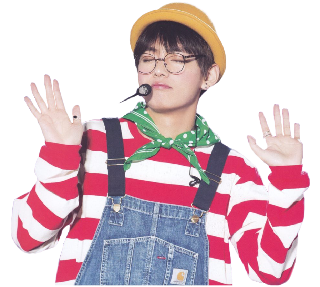 Bts v png. Tae sticker from my