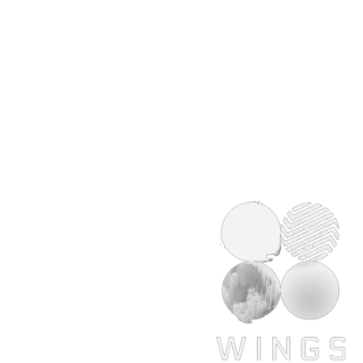 Bts wings png. Support campaign twibbon and