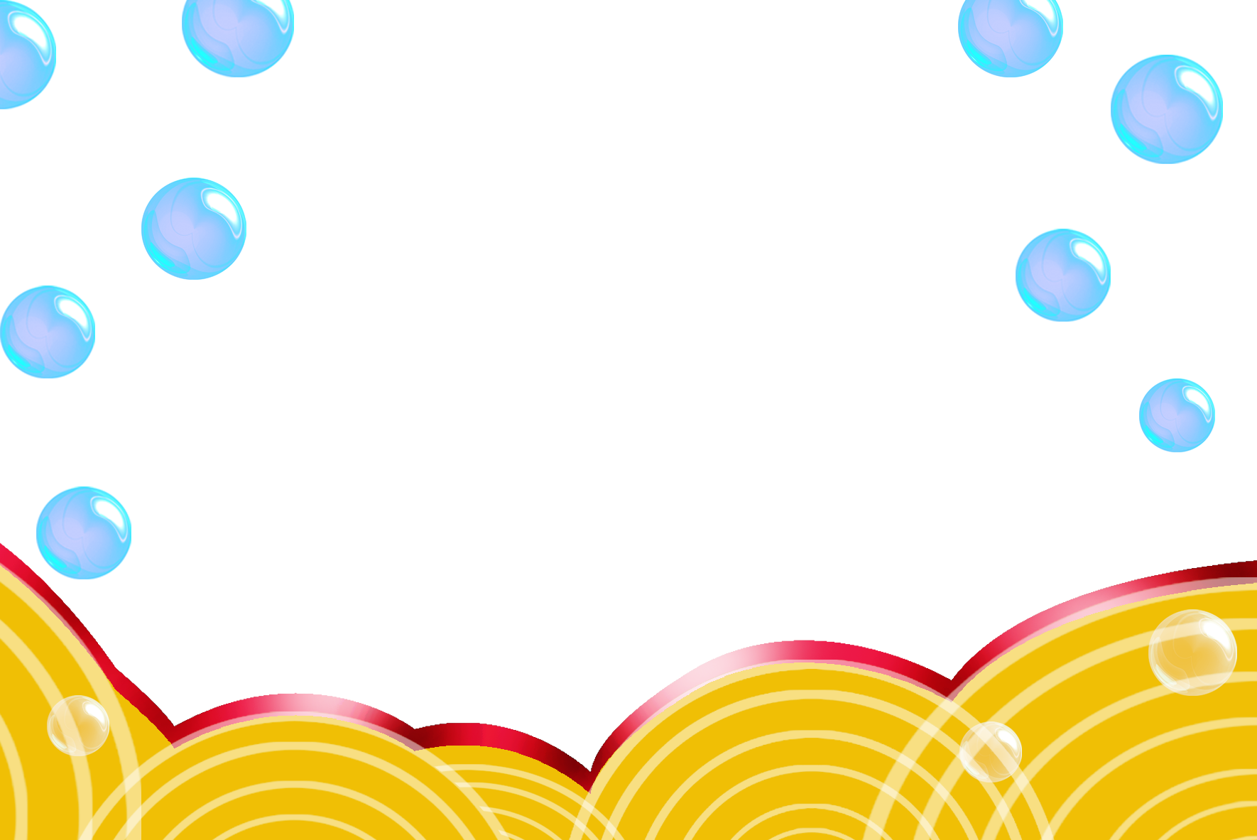 Bubble background png. Yellow graphic design border