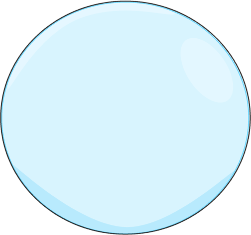 Bubble clipart outline. With a black clip