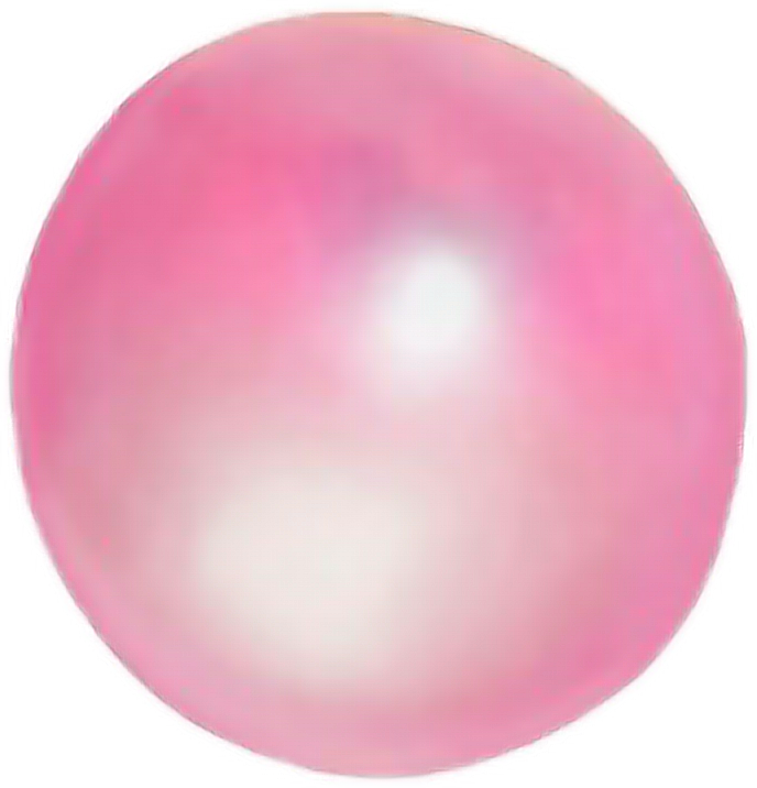 Bubble gum bubble png. Bubblegum pink chewinggum chewing