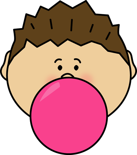 Bubble gum bubble png. Clipart bubblegum clip art