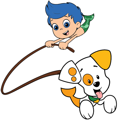 Bubble puppy png. Guppies clipart cartoon clip