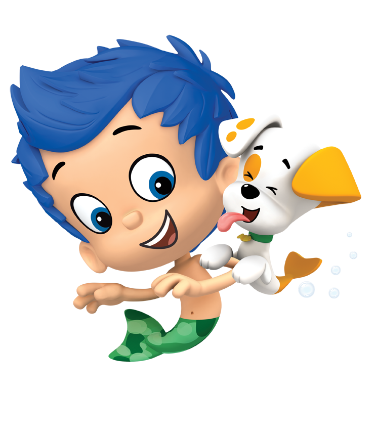Bubble puppy png. Gil nickelodeon universe