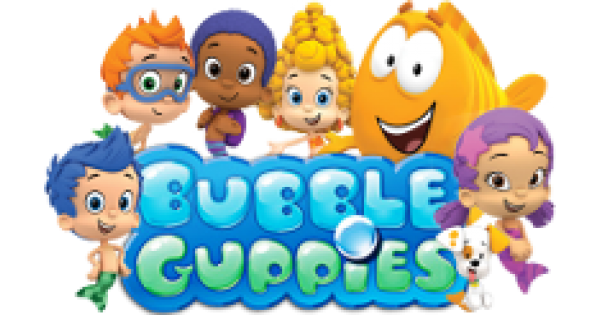 Bubble puppy png. Guppies custom birthday invitations