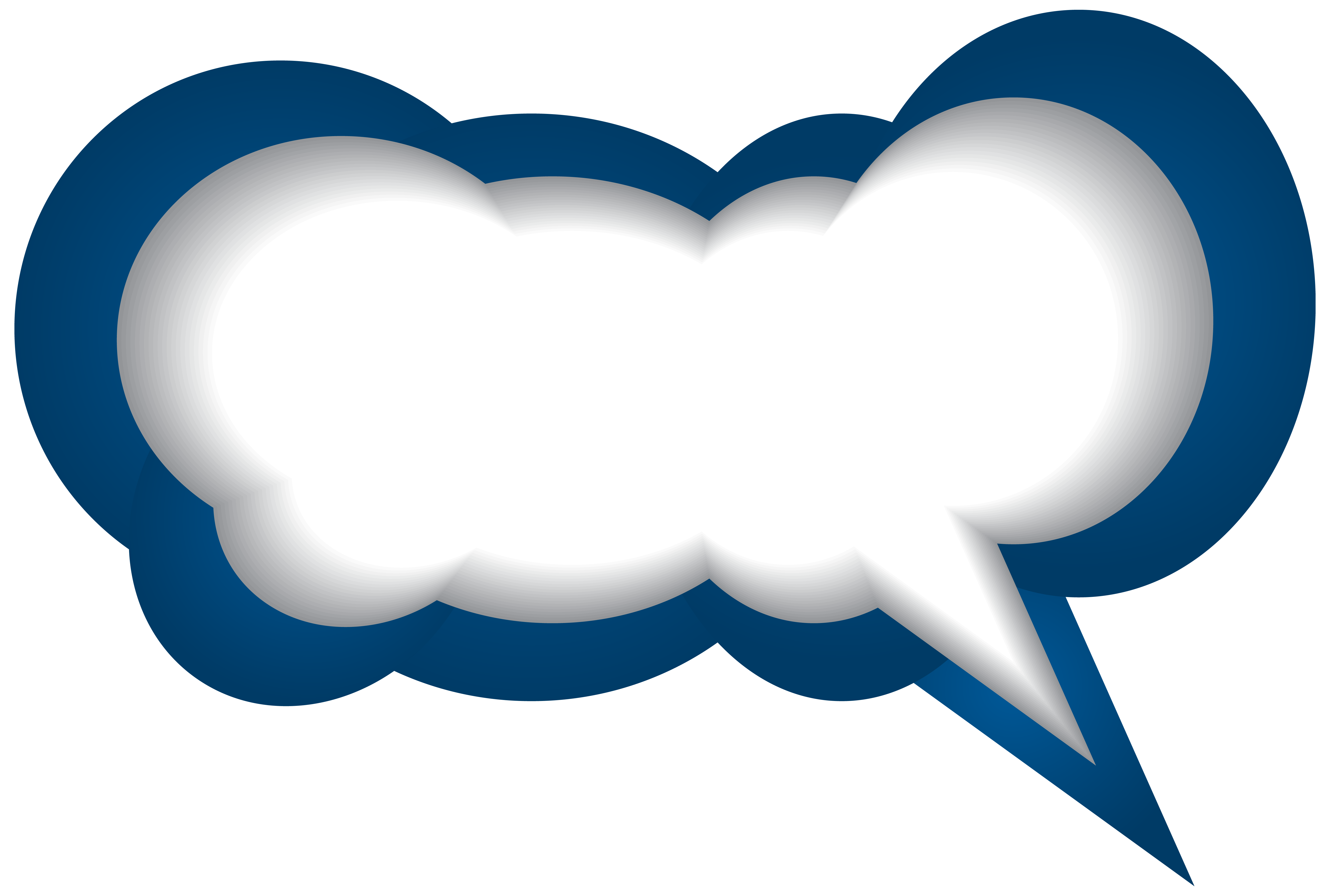 Speech blue white png. Bubble clipart jpg free library