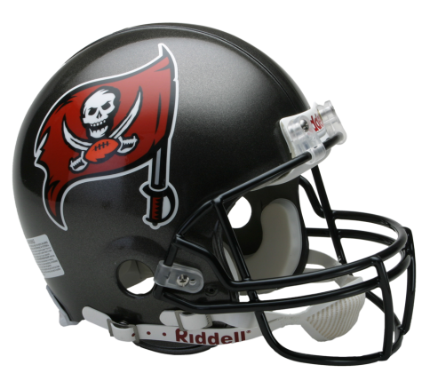 Buccaneers helmet png. Tampa bay vsr authentic
