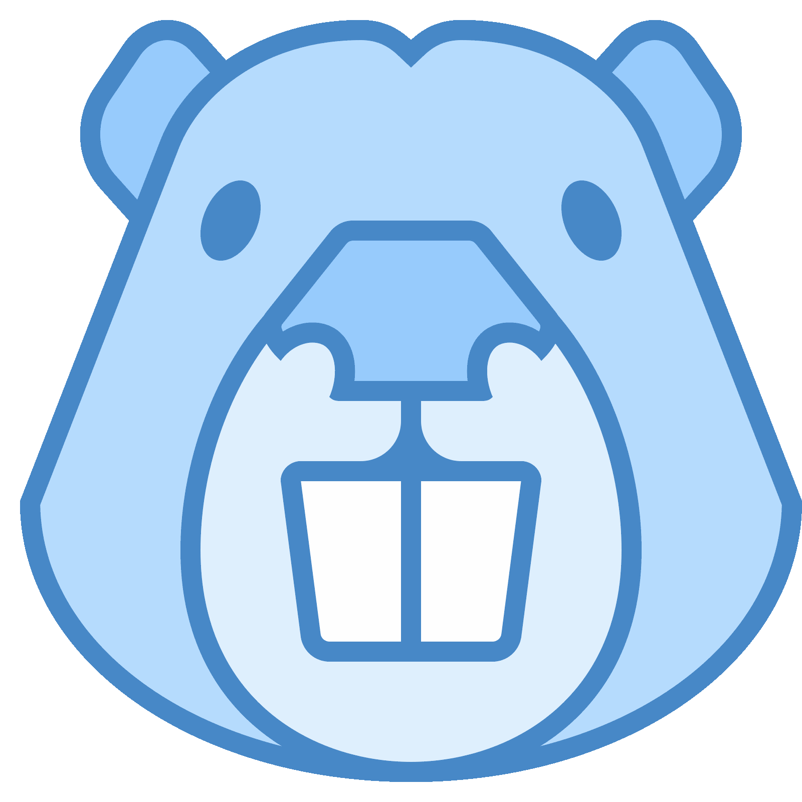Buck teeth png. Beaver icon free download