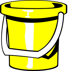 Sponges drawing bucket. Free cliparts download clip