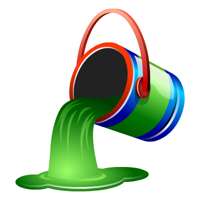 Convert png to ico paint. Bucket fill green icon