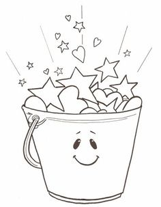 Bucket clipart fill a bucket. Best fillers images