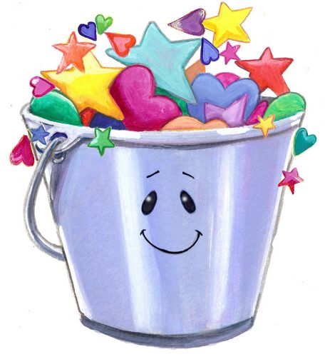 The village child development. Bucket clipart fill a bucket image freeuse stock