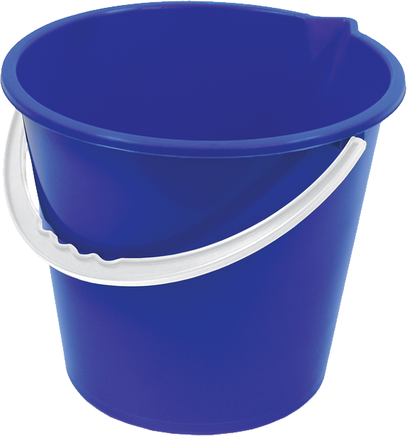 bucket transparent small plastic
