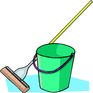 mop and bucket png