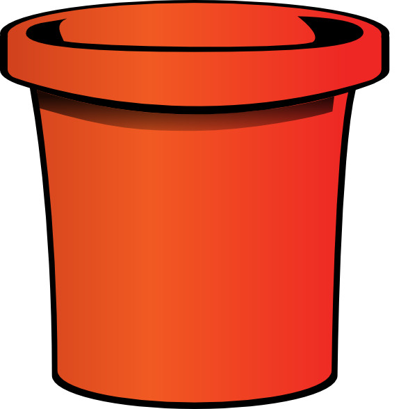 Bucket clipart small bucket. Simple clip art at