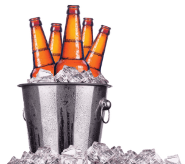 bucket of beer png