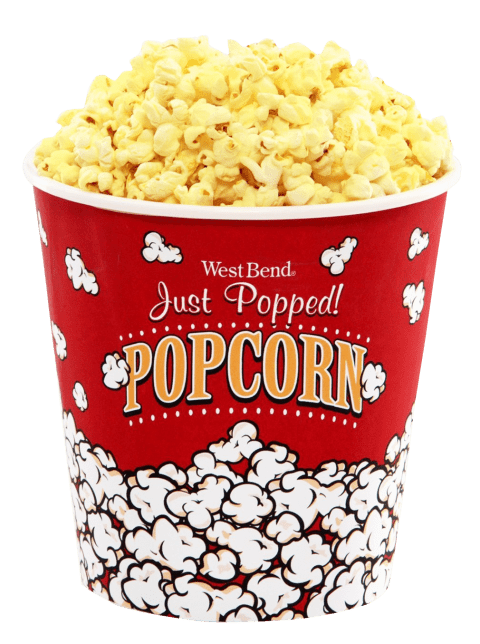 bucket of popcorn png