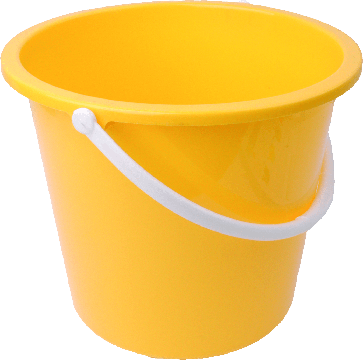 Bucket png. Yellow transparent stickpng