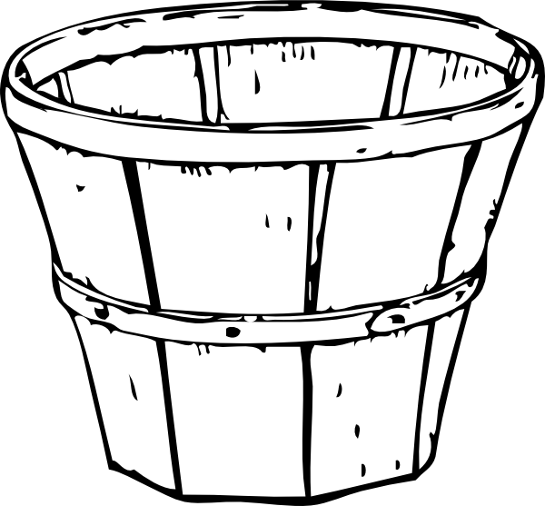 Bucket transparent black and white. Collection of free appay