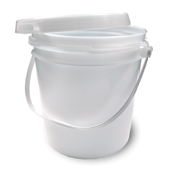 Bucket transparent clear. River city graphic supply