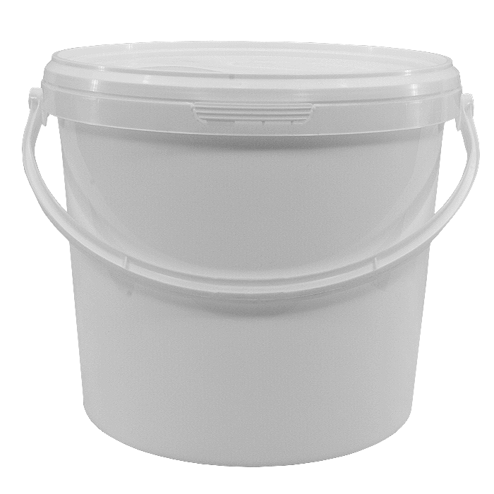 Bucket transparent clear. Plastic background png arts