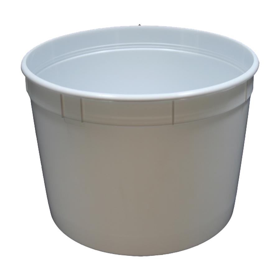 Bucket transparent clear pvc. Economy small oz plastic