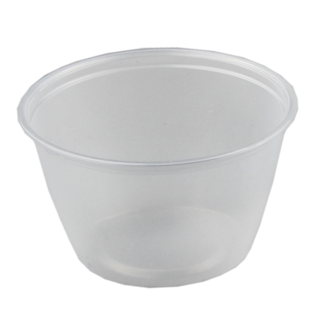 Bucket transparent clear pvc. Container pp ml mm