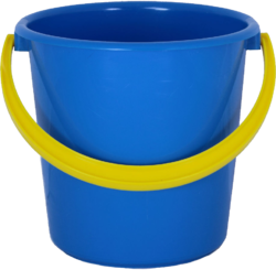 Bucket transparent polyset. In moradabad uttar pradesh