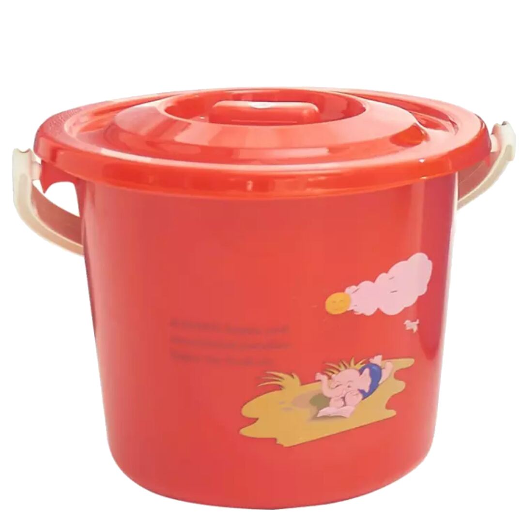 Bucket transparent small plastic. Red icon transprent png