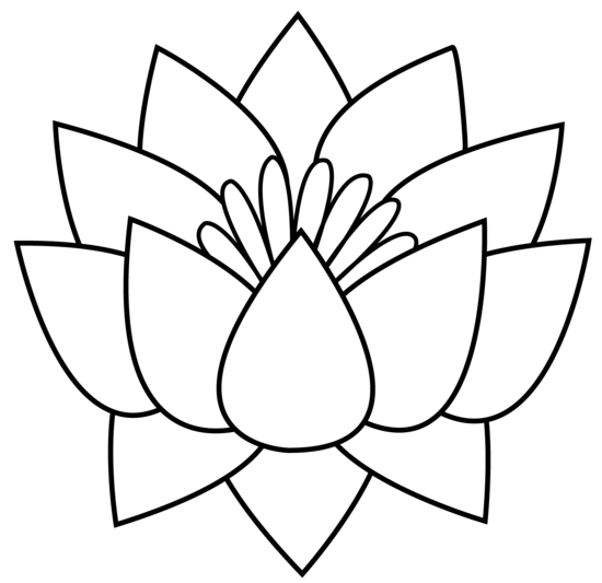 Bud drawing lotus flower. Simple at getdrawings com