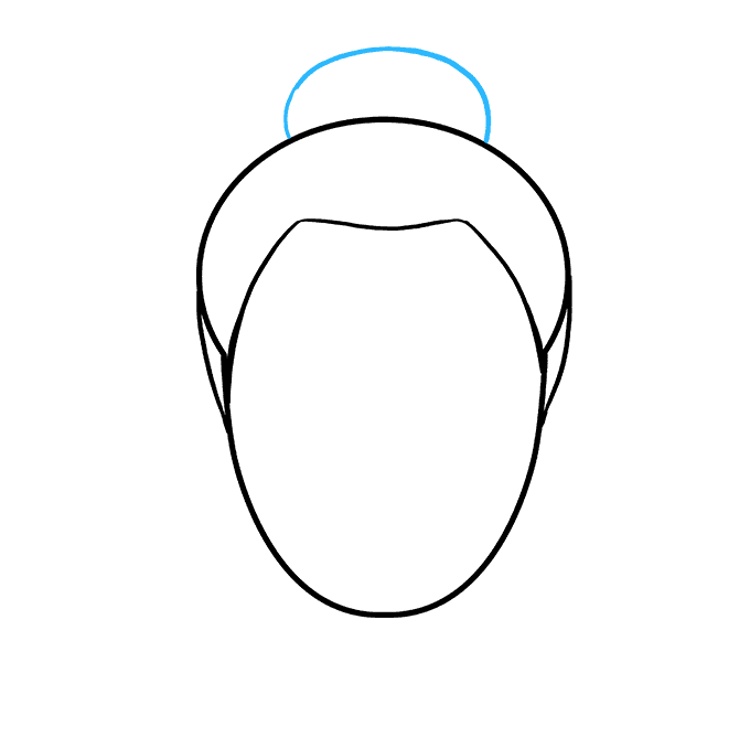 Drawing methods hair. How to draw buddha
