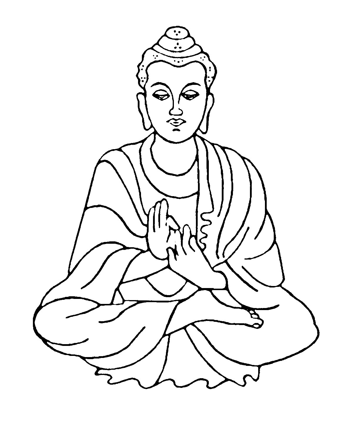 Fresh Buddha Clipart Collection - Digital Clipart Collection