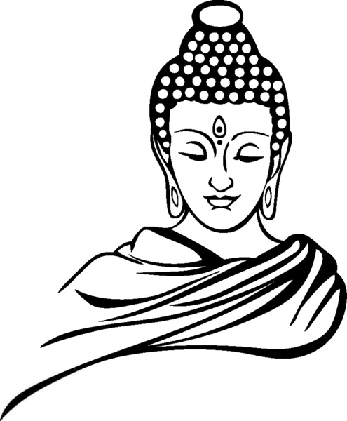 Gautam free images at. Buddha clipart clip art freeuse library