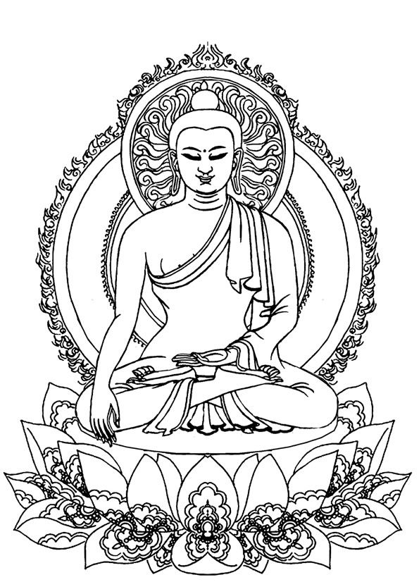 best muster images. Buddha clipart clear png library