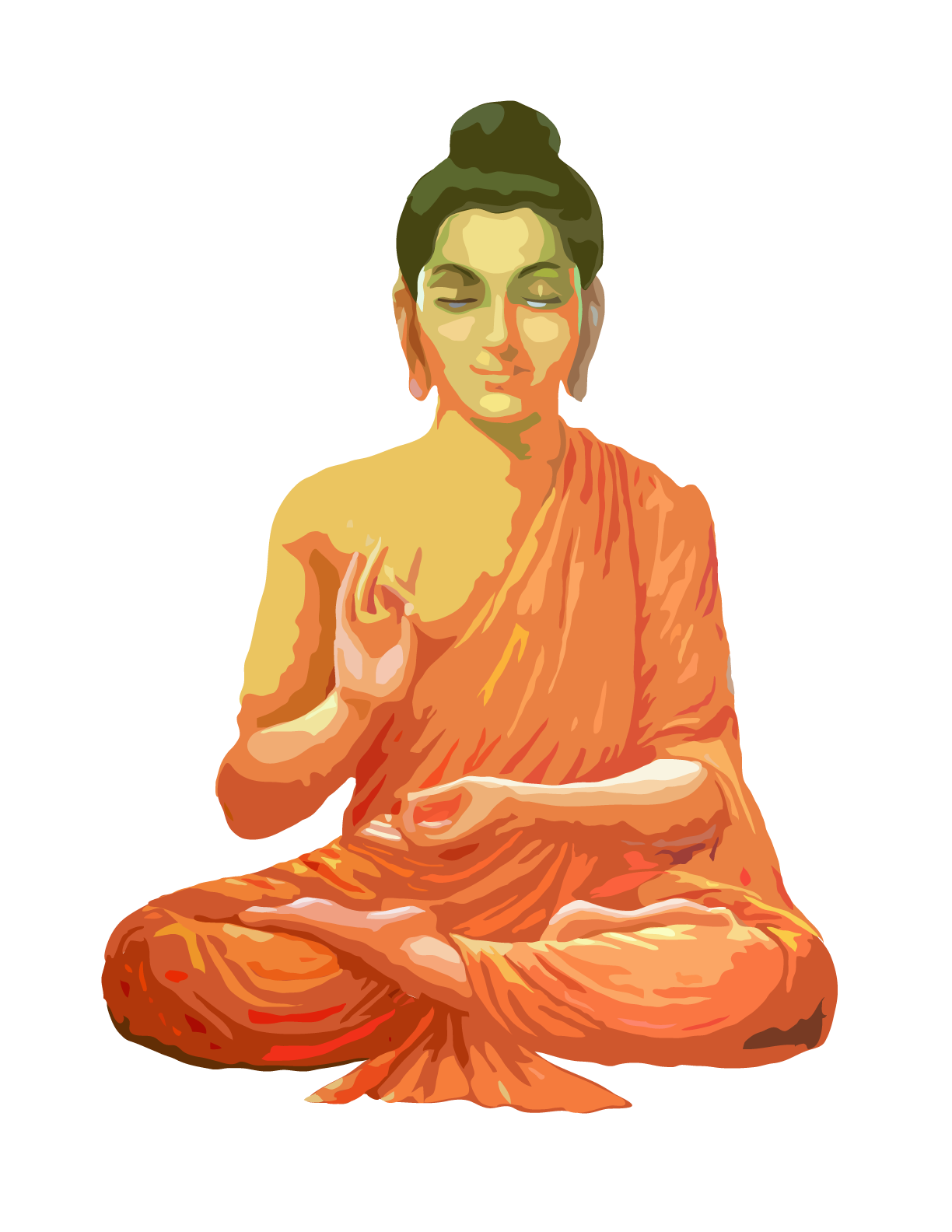 Png images transparent free. Buddha clipart clear vector free