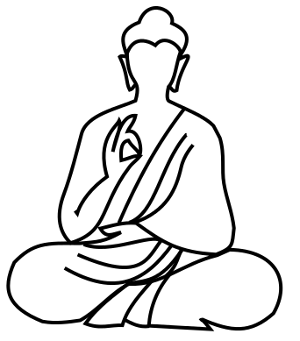 Buddha clipart easy draw. Drawing at getdrawings com