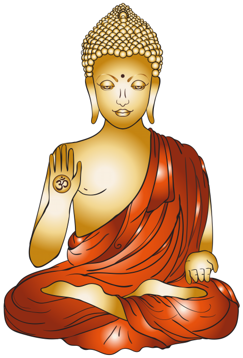 Buddha clipart golden buddha. Download png photo toppng