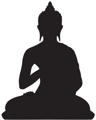 Pin by kamlesh on. Buddha clipart illustration black and white download