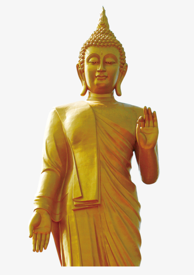 Yellow png image and. Buddha clipart sculpture jpg royalty free library