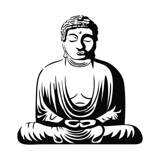 Statue drawing at getdrawings. Buddha clipart sculpture jpg free library
