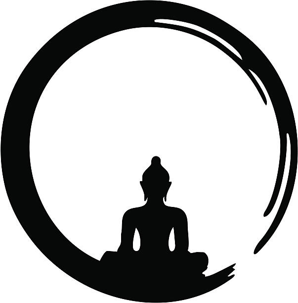 Silhouette at getdrawings com. Buddha clipart sillouette clip