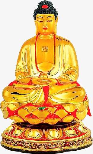 Buddha clipart yellow. Decoration png image and