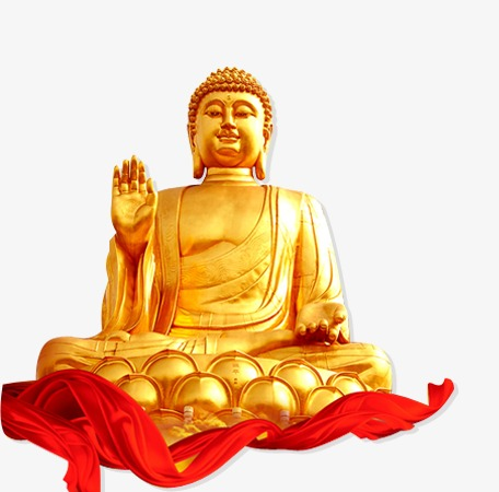 Buddha clipart yellow. Golden lord png image