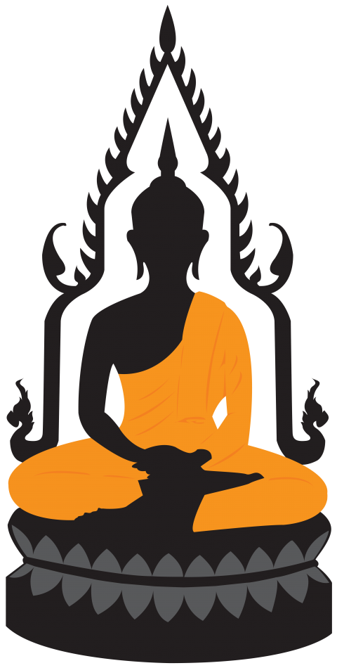 Buddha statue silhouette png. Lotus free images toppng