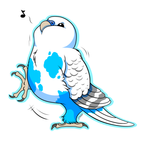 Budgie drawing english. Cartoon tumblr dont forget