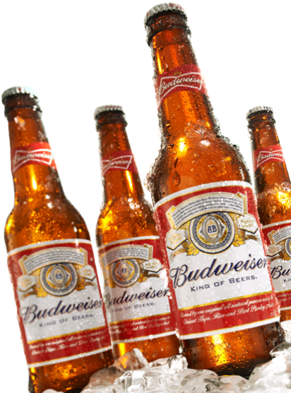 Transparent beer budweiser. Download hd png chilled