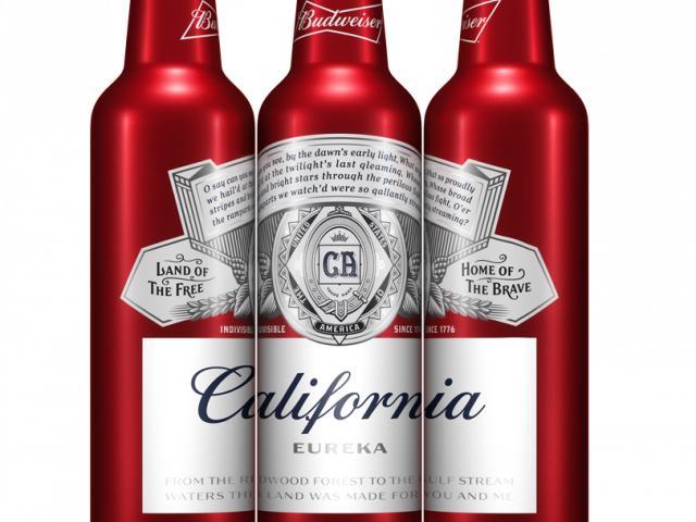 Budweiser holiday crate png. Brewed locally event in