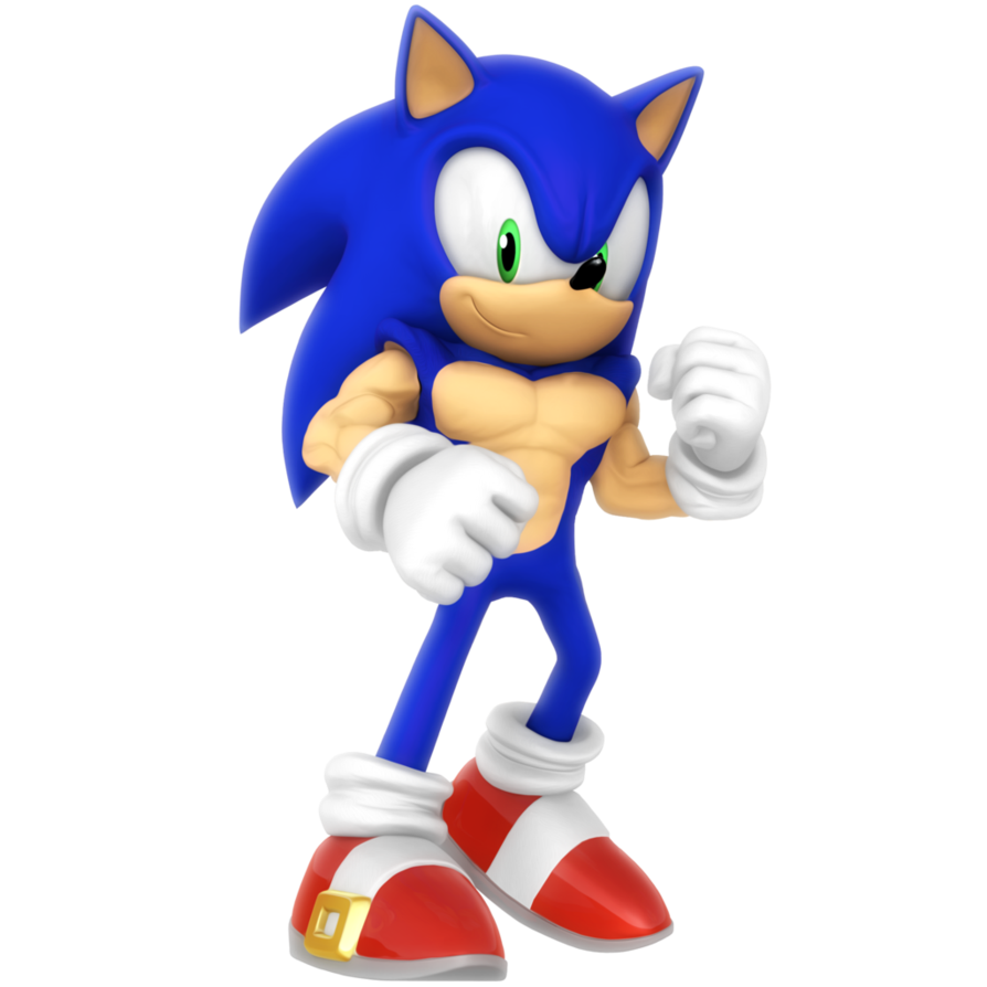 Buff legs png. Sonic render by nibroc