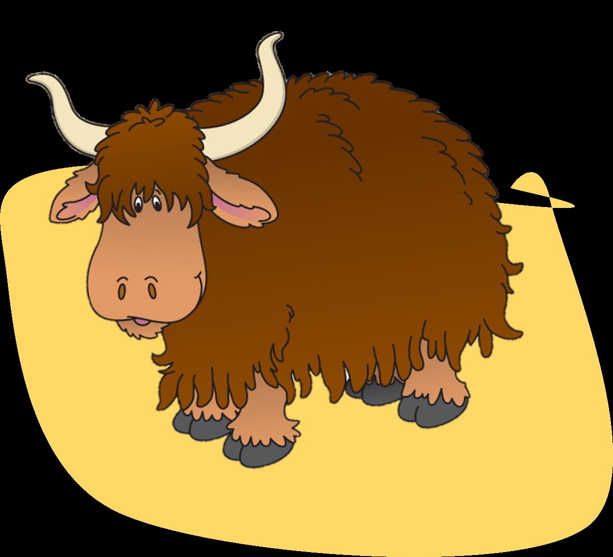Buffalo clipart yak. Awesome gallery digital collection
